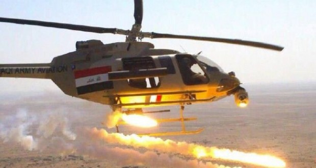 مقتل 150 داعشيا وتدمير 25 سيارة لهم شرق كرمة الفلوجة