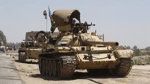 قوات الجيش العراقي والحشد الشعبي بدأت عملية عسكرية في تكريت