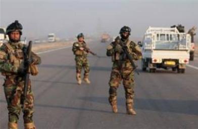 القوات العراقية تتقدم الى تكريت من محاور عدة