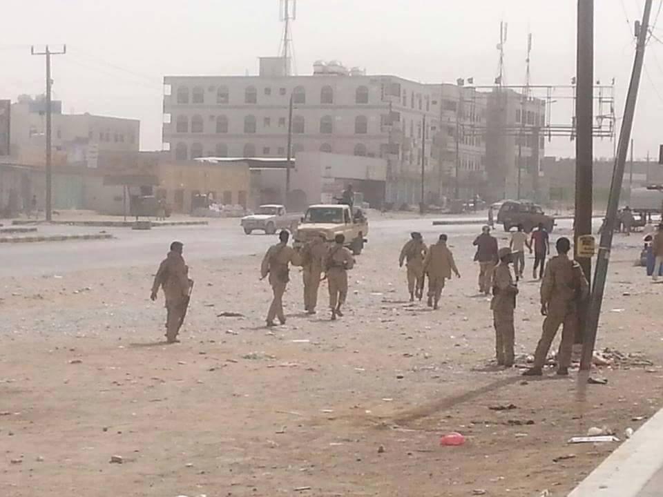 أنصار الله في مدينة عتق1