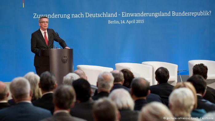Deutschland Konferenz zur Zuwanderungs- und Flüchtlingspolitik in Berlin
