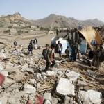 طيران العدوان على اليمن يقصف مناطق السلفيين  في دماج بصعدة