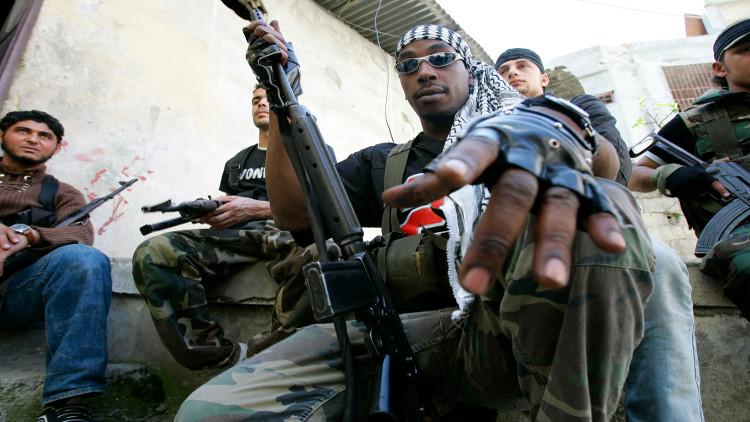 مقاتلون من حركة فتح - صورة من الأرشيف