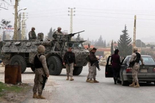 الجيش اللبناني يتصدى لمحاولة تسلل للمسلحين