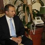 باسيل من الفاتيكان: للحفاظ على لبنان امام كل موجات العنف التي تحصل في المنطقة