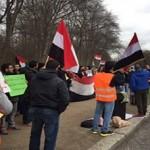استمرار الاحتجاجات في بريطانيا ضد العدوان السعودي على اليمن