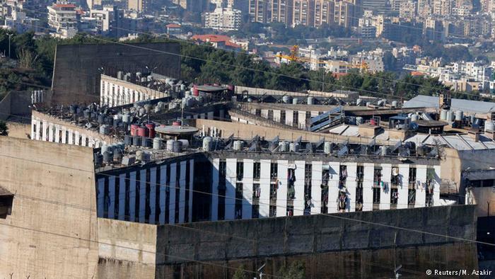 Gefängnis in Roumieh Libanon 12.01.2015