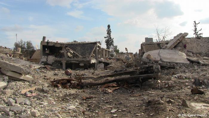 Rückkehr des Lebens im zerstörten Kobane