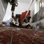 داعش يعلن مسؤوليته عن تفجير مسجد الصياح بالعاصمة صنعاء