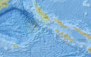 زلزال بقوة 7.2 درجة يقع قبالة ساحل بابوا غينيا الجديدة
