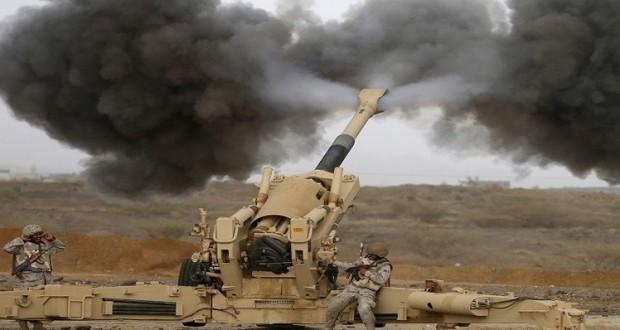 التحالف يكثف غاراته على صعدة وقتيلان سعوديان على الحدود مع اليمن