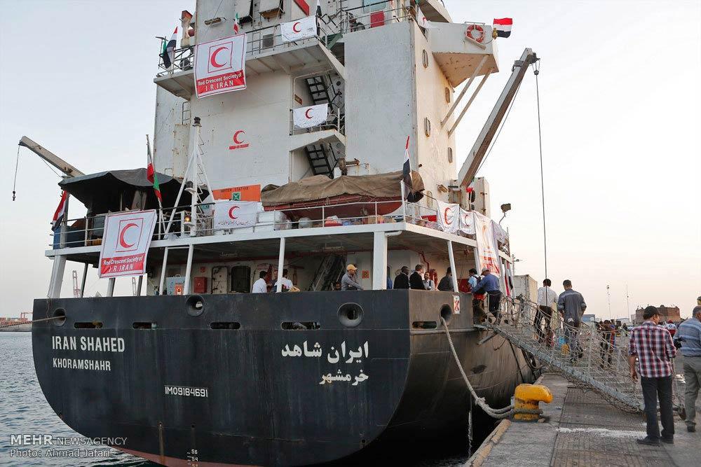 Iran-Shahed-ship-Yemen-aid-cargo