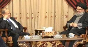 السيد نصر الله والعماد عون يبحثان الأوضاع في لبنان والمنطقة