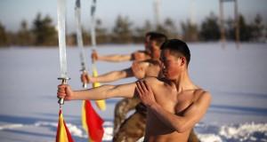 الجيش الصيني يتدرب على قساوة الثلوج