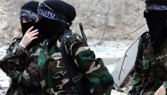 """نساء في  تنظيم """"داعش"""" (صورة أرشيفية)"""