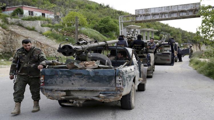 مسلحون جبهة النصرة