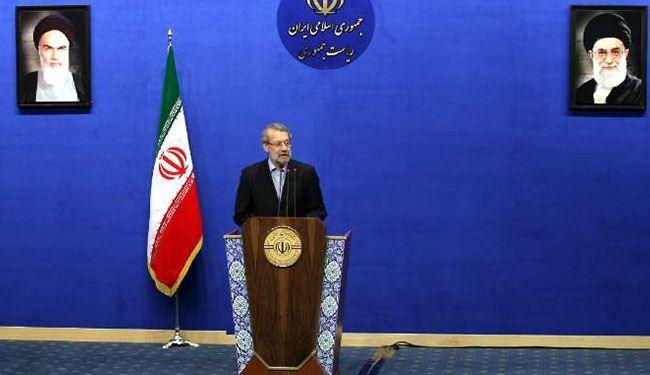 رئيس مجلس الشورى الاسلامي علي لاريجاني