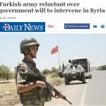 تركيا: رئيس أركان الجيش تمرد على أوامر حكومته