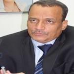 مبعوث الأمين العام للأمم المتحدة إلى اليمن إسماعيل ولد الشيخ يصل صنعاء