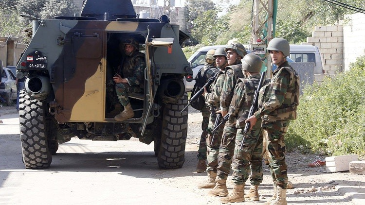 قوات الجيش اللبناني