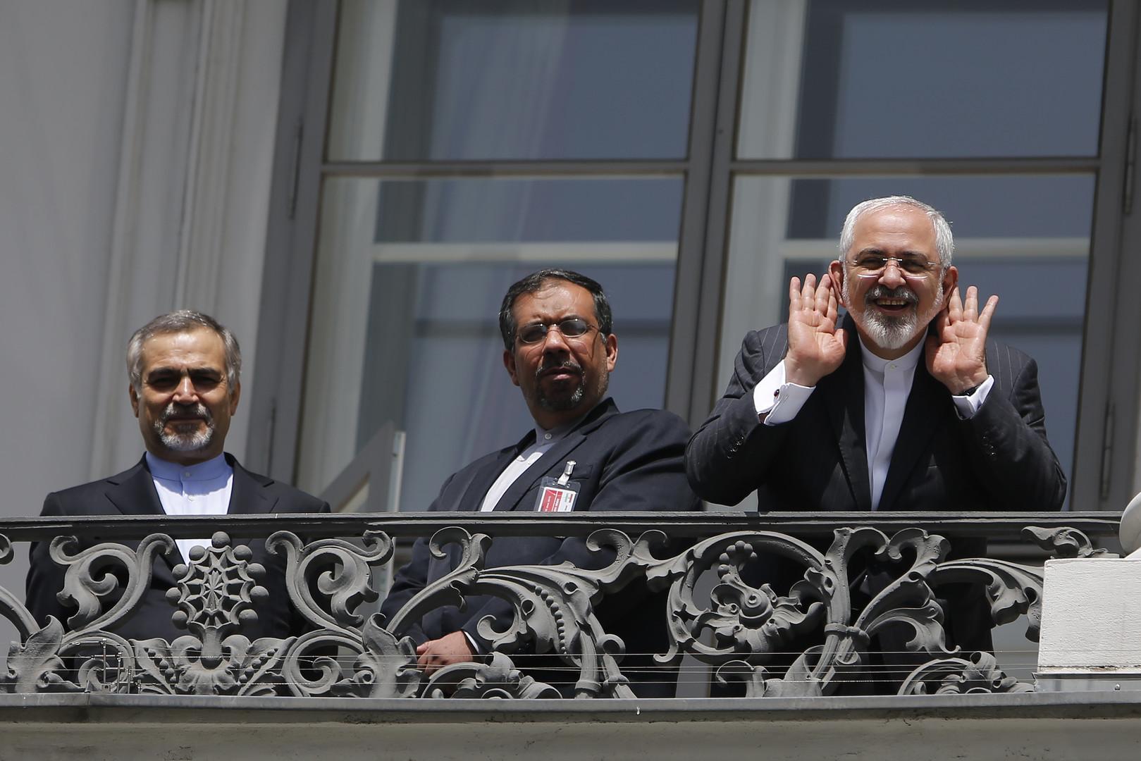 وزير الخارجية الإيراني محمد جواد ظريف - فيينا