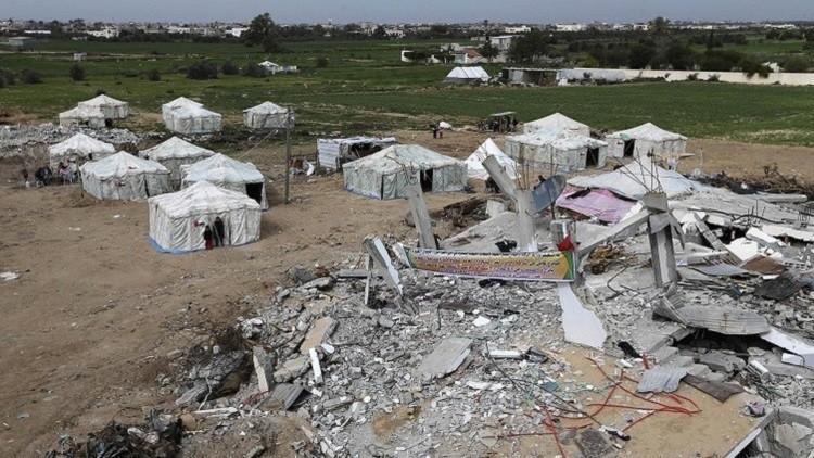 دمار غزة بعد الحرب الأخيرة