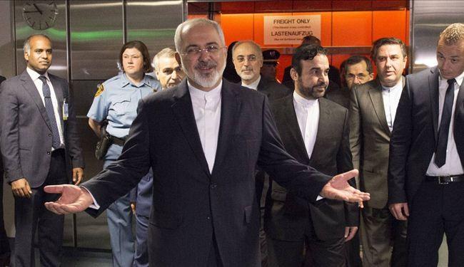 محمد جواد ظريف وزير الخارجية الايراني