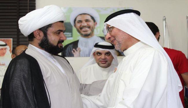 الإفراج عن رئيس شورى الوفاق السيد جميل كاظم +صور