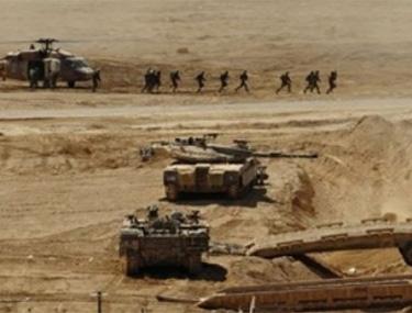 israel-maneuvres