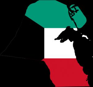 kuwait-flag-map