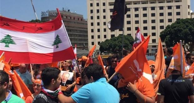 المواجهات متواصلة في وسط بيروت بين شباب التيار الوطني الحر والقوى الأمنية
