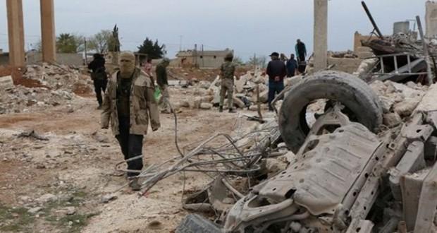 """""""داعش"""" يكتسح مسلحين بريف حلب ويسيطر على قرى سورية"""