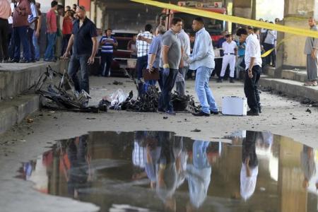 الداخلية المصرية: انفجار سيارة ملغومة خارج مقر أمني بالقاهرة وإصابة 6