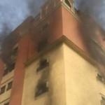 وفاة 7 أشخاص واصابة اكثر من 220 بحريق مبنى سكن موظفي ارامكو بالسعودية