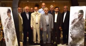 رئيس بلدية طهران زار روضة شهداء المقاومة