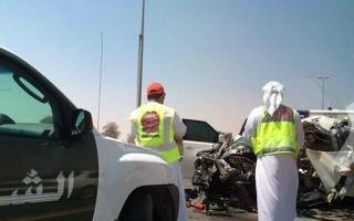 أعجوبة: عنصر من شرطة دبي يعيد أحشاء رجل وينقذ حياته!