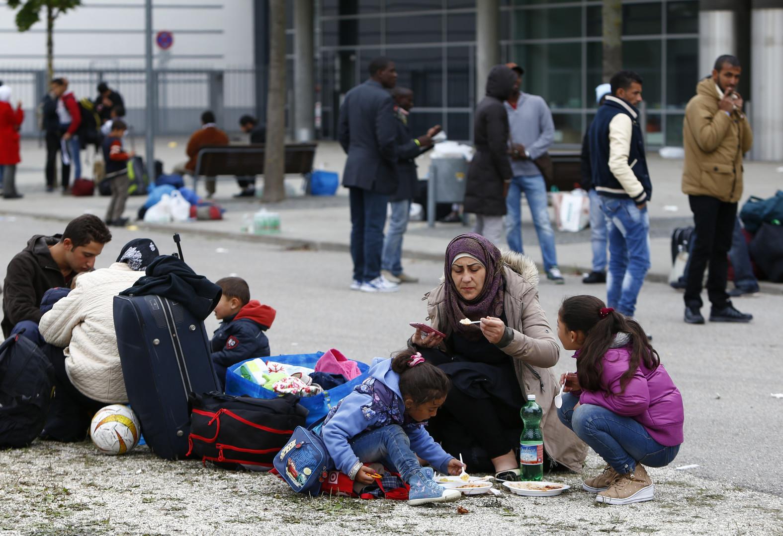 مهاجرون سوريون في ميونخ