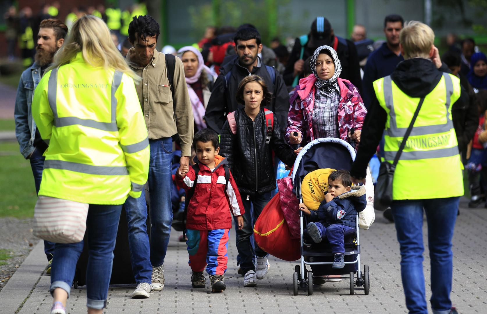 مهاجرون سوريون في مدينة دورتموند الألمانية
