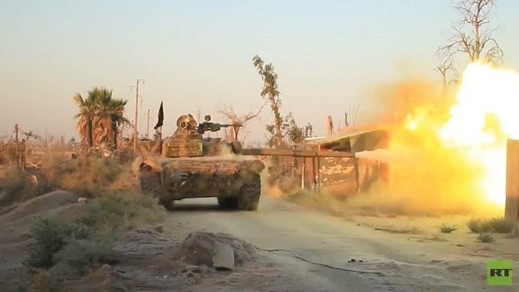 معارك عنيفة في محيط مطار دير الزور العسكري