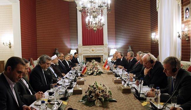 اجتماع الوفدين الايراني والنمساوي