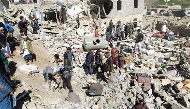 قصف المجمع الزراعي في بلاد الروس في صنعاء