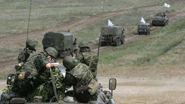 قوات الجيش الروسي