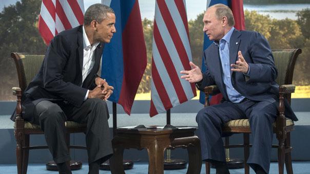 بوتين: حل الازمة السورية غير ممكن إلا بتعزيز الحكومة الحالية