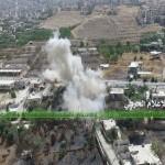 الجيش السوري والمقاومة يكتشفان نفقاً بين مضايا وسهلها المحاذي للزبداني