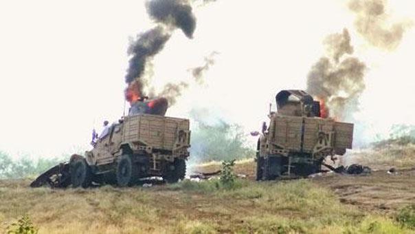أربع آليات سعودية احترقت في مقدمة الهجوم ودبابة أميركية جرى إعطابها
