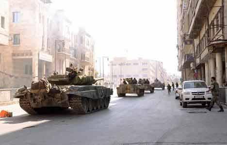 ادبابات السورية تتقدم باتجاه دوما