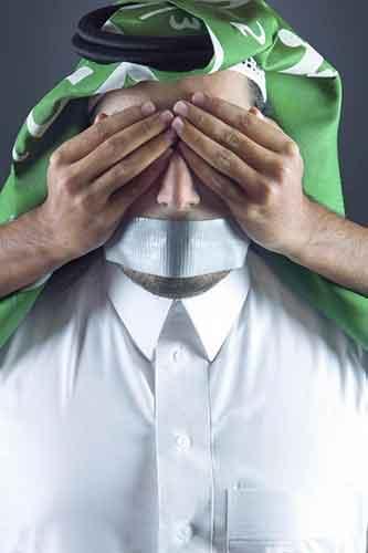 """محاكمة ناشط سعودي وصف قضاء آل سعود بـ""""الداعشي"""""""