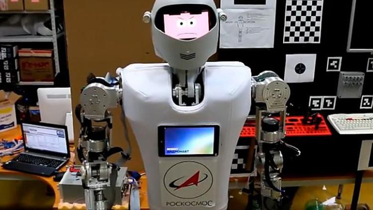 """الروبوت الروسي """"اندرونافت"""""""
