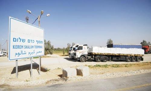 """""""إسرائيل"""" تعتقل التجار الذين يضطرون للسفر عبر حاجز بيت حانون"""