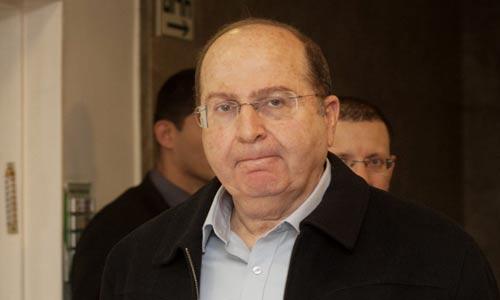 وزير الحرب الصهيوني موشيه يعلون